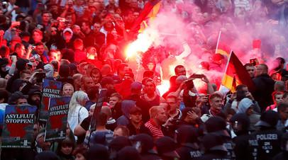 Беспорядки в Хемнице