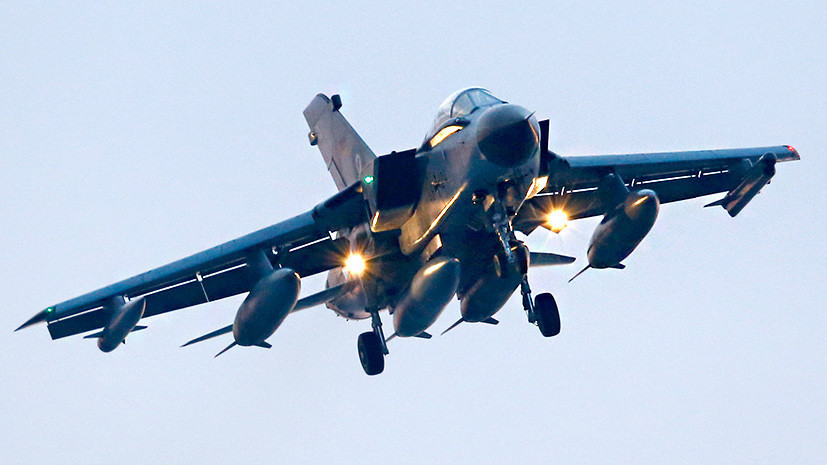 На встрече главы Минобороны ФРГ и военного атташе США обсуждалось участие немецких самолётов Tornado в нанесении ударов по позициям сирийских правительственных сил