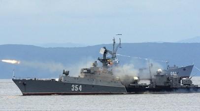 Малый противолодочный корабль ЧФ провёл учения по противовоздушной обороне