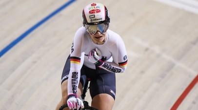 Олимпийская чемпионка по велоспорту Фогель частично парализована после падения на тренировке