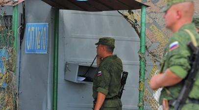 Президент Приднестровья высказался в поддержку миротворческой операции России в регионе