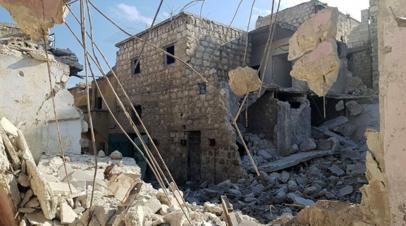 В ЦПВС подтвердили гибель девяти человек при обстреле боевиками населённого пункта в Сирии