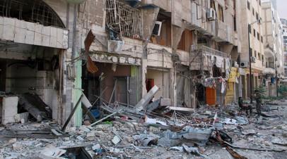Россия оказала гуманитарную помощь жителям на западе Хомса