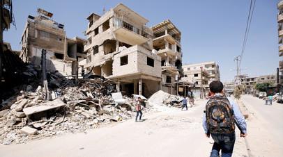 В бундестаге исключили возможность удара Германии по войскам Сирии