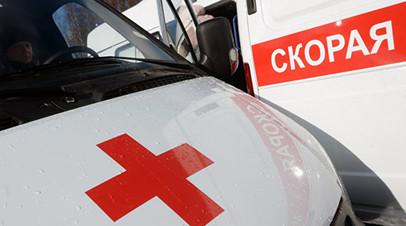 На юге Москвы в ДТП с участием автобуса и двух грузовиков пострадали пять человек