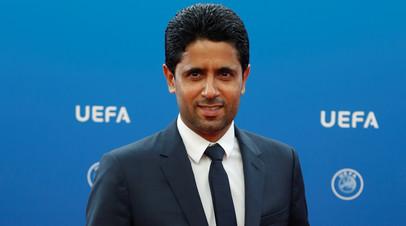 Президент ПСЖ рассказал, кого считает главным конкурентом в Лиге чемпионов