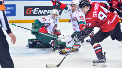 «Авангард» по буллитам победил «Ак Барс» в матче КХЛ