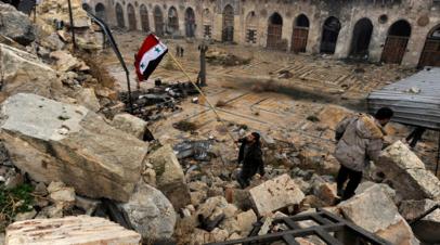 Захарова: боевики в сирийском Идлибе рассматривают варианты наступления на Алеппо и Хаму