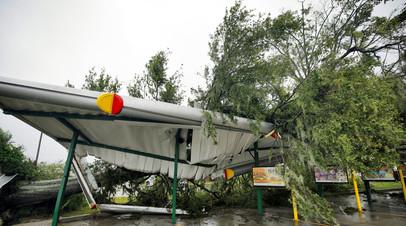 Два человека погибли в США из-за урагана «Флоренс»