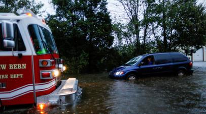Число жертв урагана«Флоренс» в США увеличилось до пяти