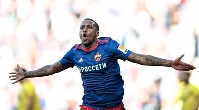 Футболист ЦСКА Эрнандес получил травму в матче седьмого тура РПЛ с «Уфой»