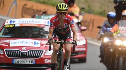 Британский велогонщик Йейтс стал победителем «Вуэльты»