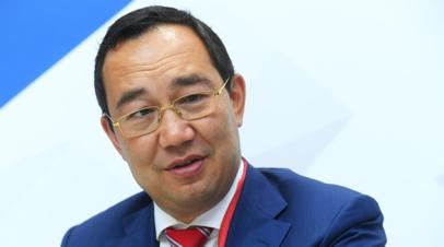 Глава Якутии рассказал о приоритетах в экономике республики