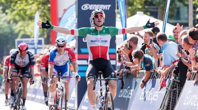 Итальянский спринтер Вивиани выиграл заключительный этап «Вуэльты-2018»