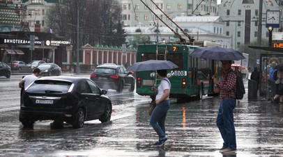 В Москве с начала сентября выпала почти четверть месячной нормы осадков