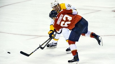 Дубль Дадонова помог «Флориде» победить «Монреаль» в предсезонном матче НХЛ