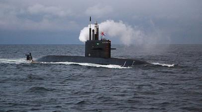 Подводная лодка «Кронштадт» спущена на воду в Петербурге