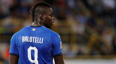 Тотти рассказал, за что намеренно ударил Балотелли по ногам в финале Кубка Италии