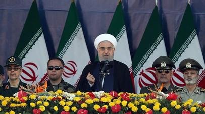 Рухани выразил соболезнования семьям погибших при теракте в Иране