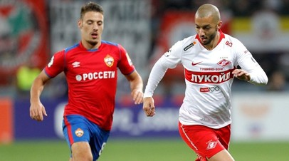 ЦСКА и «Спартак» сыграли вничью в матче восьмого тура РПЛ