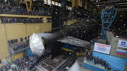 Подлодка проекта 855М «Казань» вышла в море на заводские испытания