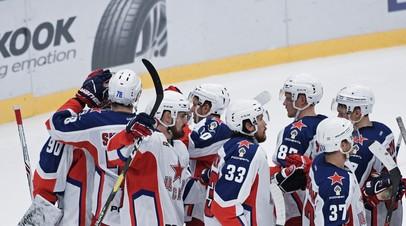 ЦСКА в серии буллитов переиграл ХК «Сочи», одержав четвёртую победу подряд в КХЛ