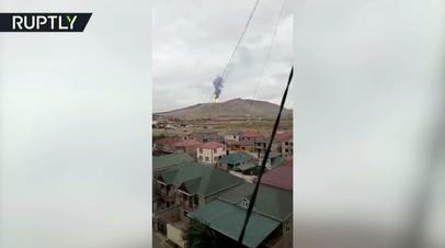В Азербайджане произошло извержение грязевого вулкана