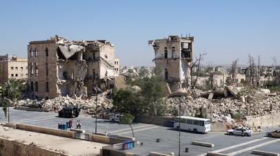 Боевики обстреляли Алеппо
