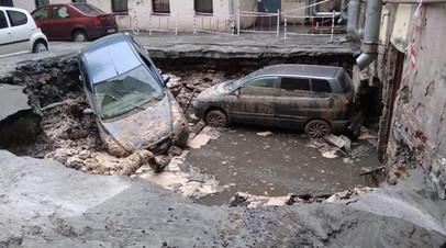 Владелец кафе прокомментировал гибель людей при прорыве трубы с кипятком в Петербурге