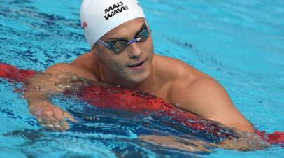 Морозов установил мировой рекорд на дистанции 100 метров комплексным плаванием