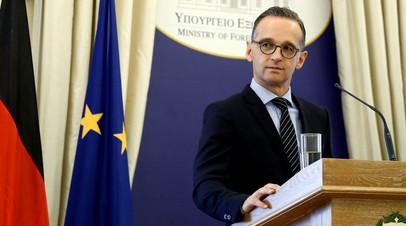 Глава МИД ФРГ рассказал о возможной миссии ООН в Донбассе
