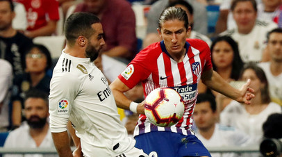 «Реал» и «Атлетико» не выявили победителя в матче чемпионата Испании по футболу