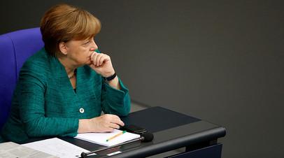 «Канцлера не поддерживают даже в её партии»: с чем связано падение популярности блока Меркель в Германии