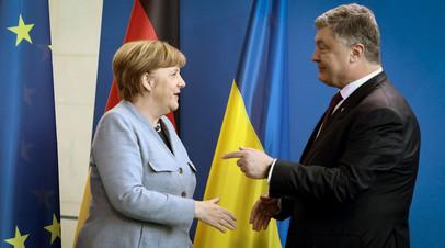 Эксперт прокомментировал обсуждение Порошенко и Меркель антироссийских санкций
