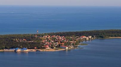 Пожар на борту парома под флагом Литвы в Балтийском море потушен