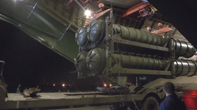 Россия поставила комплекс ЗРК С-300 в Сирию — видео