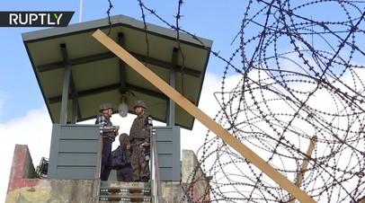 Военные КНДР и Южной Кореи проводят разминирование демилитаризованной зоны — видео