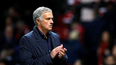 Моуринью высказался о положении «Манчестер Юнайтед» в турнирной таблице АПЛ
