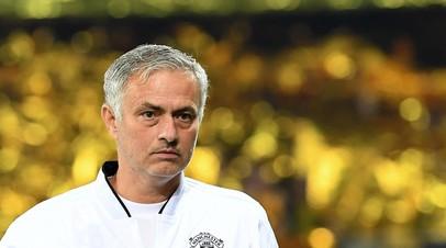 СМИ: Моуринью будет уволен из «Манчестер Юнайтед» в ближайшие несколько дней