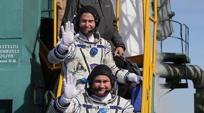 Источник: отправившийся к МКС новый экипаж испытывает перегрузку в 6 G