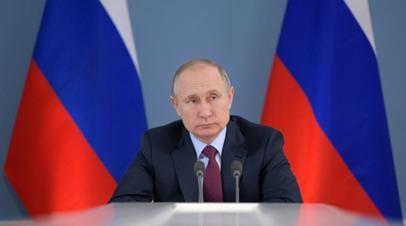 Путин встретится с президентом Египта 17 октября