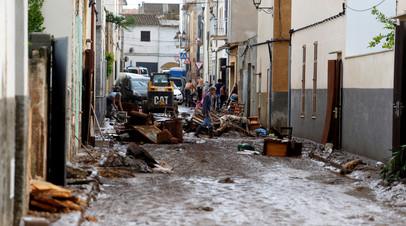 Число погибших при наводнении на Майорке возросло до 12
