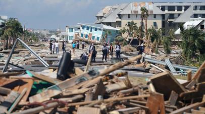 Число жертв урагана «Майкл» в США возросло до 11