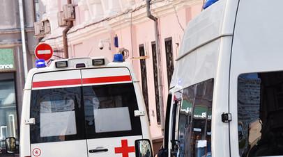 В Москве внедорожник сбил трёх человек на пешеходном переходе