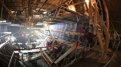 Станцию метро «Давыдково» в Москве планируют открыть до конца 2021 года