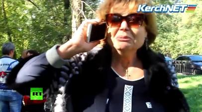 Директор керченского колледжа: Всех моих людей перестреляли, дети погибли