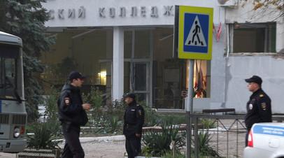 Двоих пострадавших в Керчи доставят на лечение в Москву