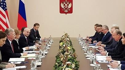 Патрушев и Болтон обсудили сотрудничество России и США по стратегическим вопросам