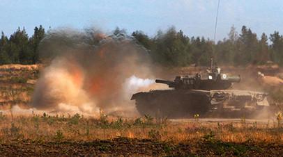 Артиллеристы танковой армии ЗВО завершают сбор масштабными стрельбами