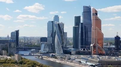 В столице проверяют сведения о возгорании в одной из башен Москва-Сити